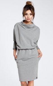 SilkFred Grey Dress